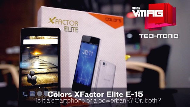 Gadget Review: Colors Factor Elite E-15 – Smartphone with a built-in Powerbank