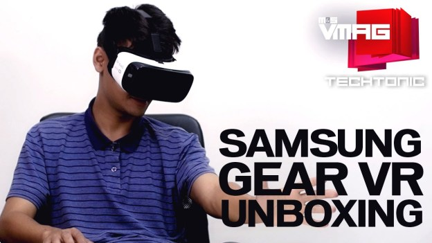Gadget Review: Samsung Gear VR Unboxing and Reaction Test
