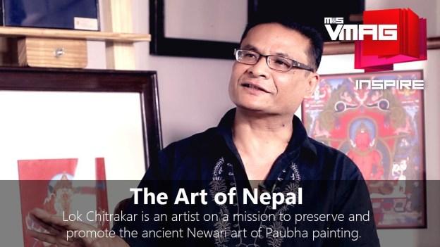 M&S Inspire: The Nepali Fine Art of Paubha Painting with Lok Chitrakar