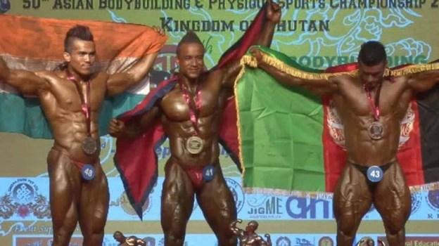 Nepal's Mahesh Maharjan Wins Gold At Asian Bodybuilding Championship