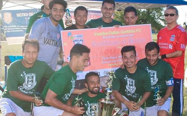 Vastika-Dallas Gurkhas Lift Dashain Cup For Third Time In A Row