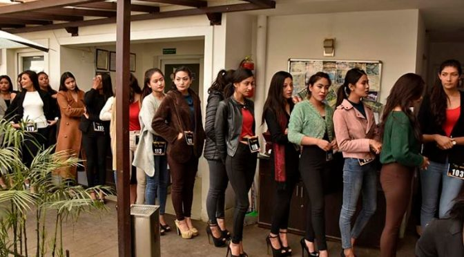 Models Audition For TGIF Nepal Fashion Week 2017