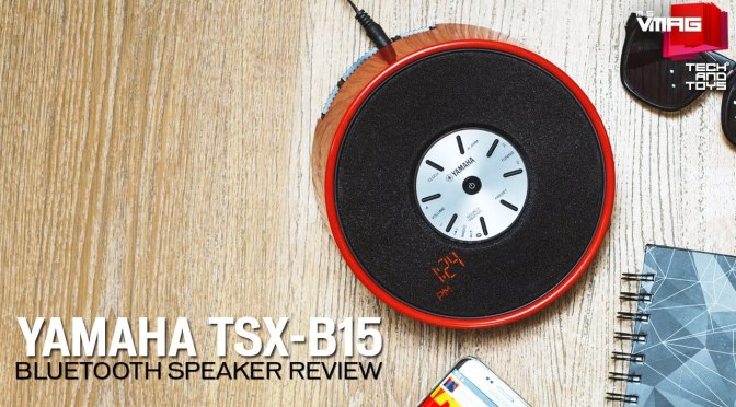 TECH & TOYS: Yamaha TSX-B15 Bluetooth Speaker Review