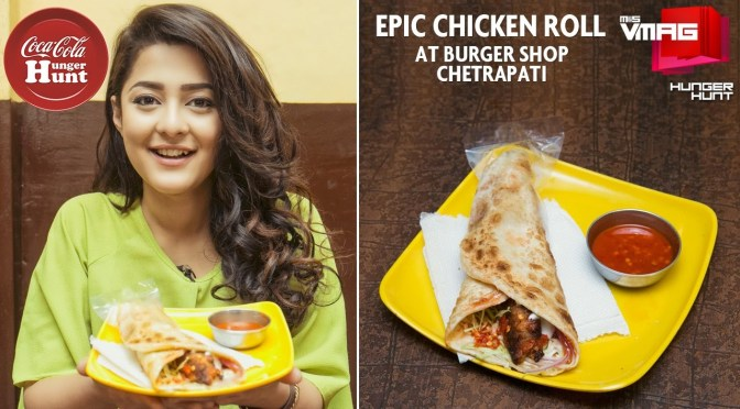 HUNGER HUNT: Epic Chicken Roll – Burger Shop at Chhetrapati