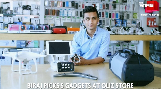 TECH & TOYS: Biraj Picks 5 Gadgets at Oliz Store