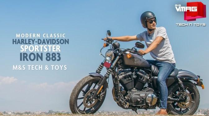 TECH & TOYS: Riding Harley-Davidson in Kathmandu