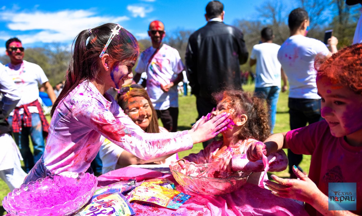 Holi celebration by indreni [PHOTO GALLERY]
