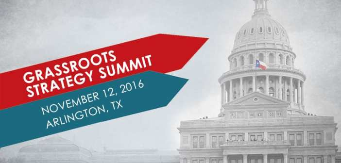 Grassroots Strategy Summit