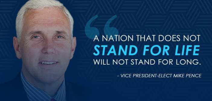 Mike Pence Pro-Life Quote
