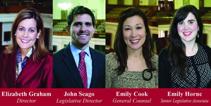 Texas Right to Life's Pro-Life legislative team