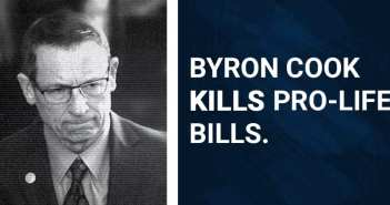 Byron Cook is Singlehandedly Obstructing Priority Pro-Life Legislation