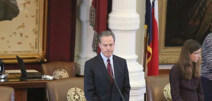 Speaker of The Texas House, Joe Straus, gavels out sine die