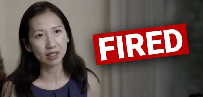 Planned Parenthood pres FIRED