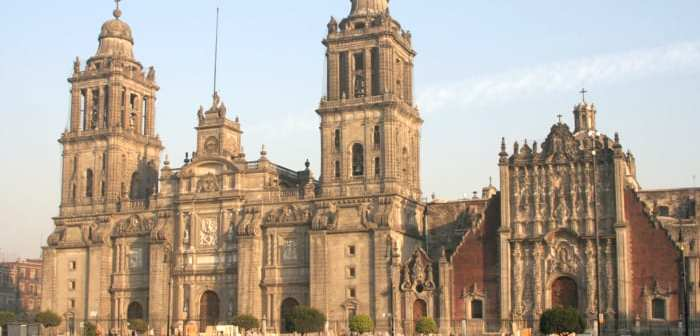 Abortion activists try to burn down Mexico City cathedral