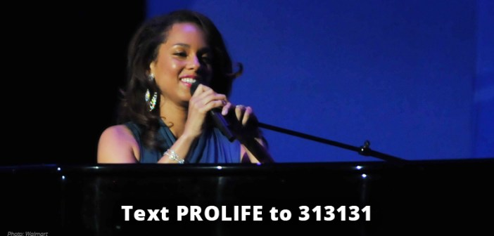 Alicia Keys Praises Her Mother for Choosing Life