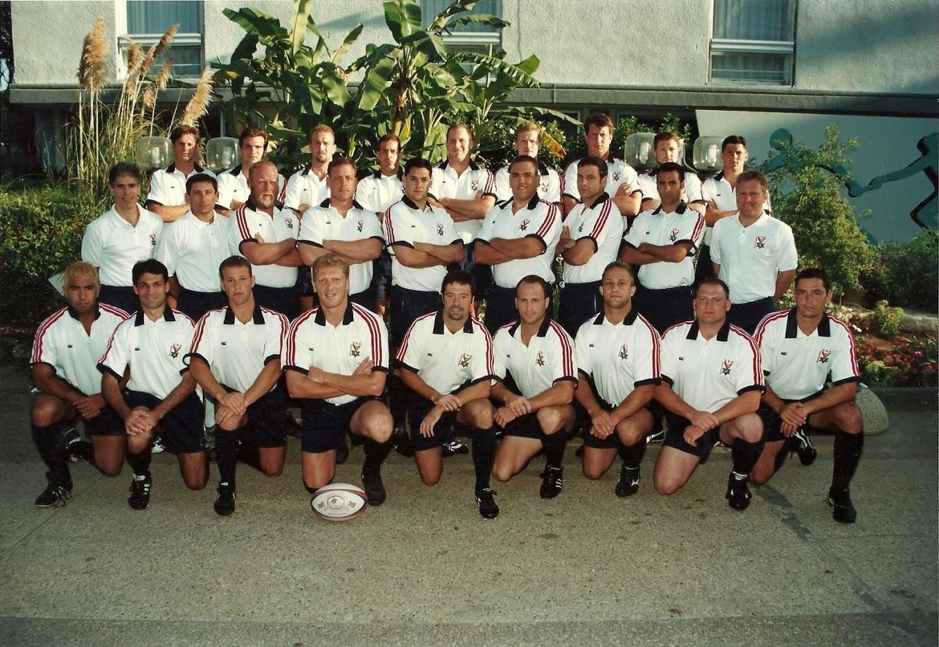 1997 Bill Taute - Maccabiah Gold Medal Team