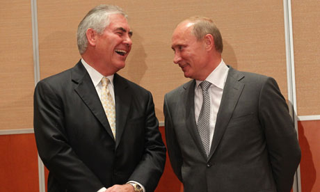 Image result for tillerson and putin