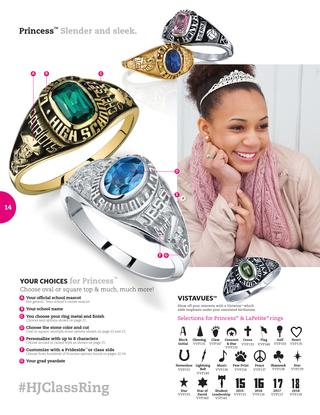 Students can order their class ring when they graduate from Texas Success Academy