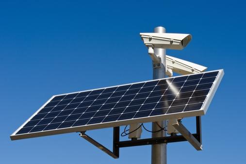 Solar Powered Security Cameras Wireless Security Camera