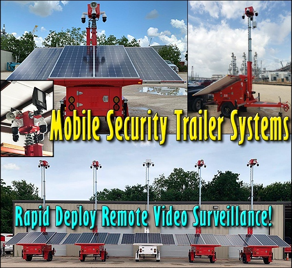 Mobile Security Trailer Systems