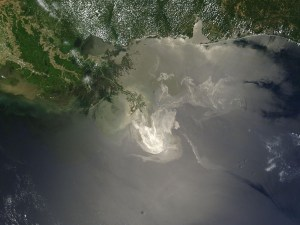 The Spill Seen from Space
