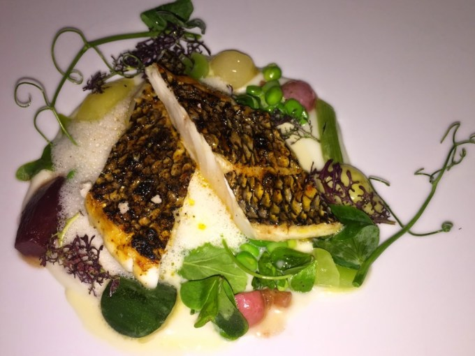 Providence, known as LA's best seafood restaurant, serves a phenomenal striped bass.