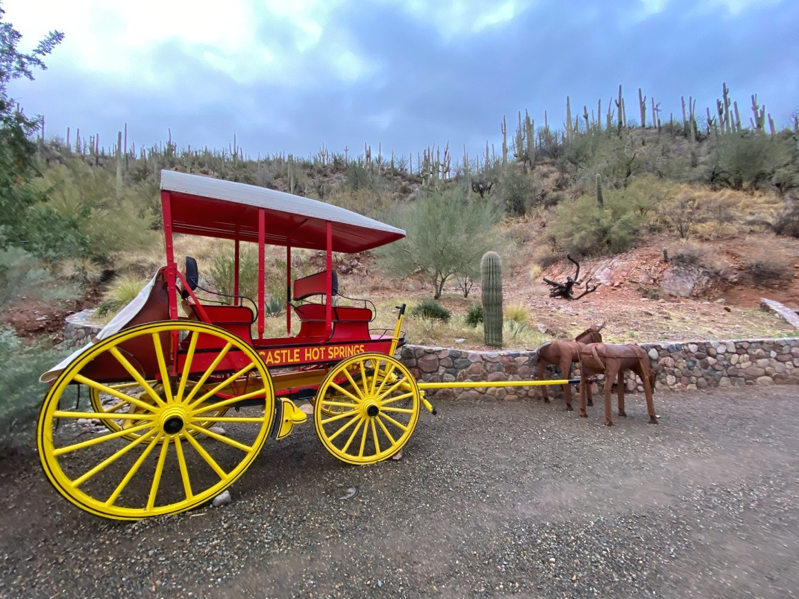 castle hot springs resort stage coach