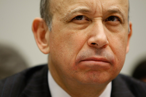 Lloyd Blankfein, CEO of Goldman Sachs