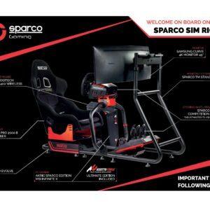 Simulatore di guida professionale Sparco