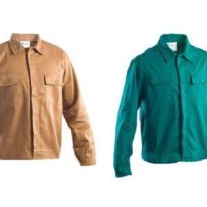 Giubbotto da lavoro beige o verde