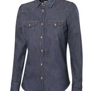 Camicia Jeans Denim Stretch