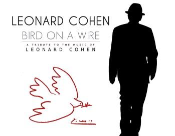 """Συναυλία """"Bird on A Wire"""" – Αφιέρωμα στον Leonard Cohen την Τρίτη 18 Ιουλίου στο Θέατρο Τεχνόπολις"""