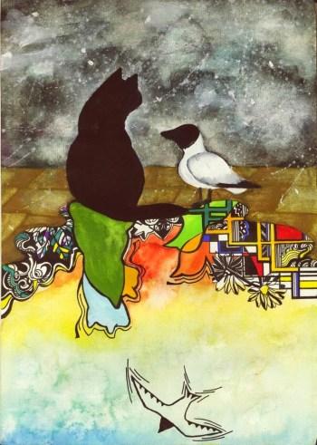 Παιδικό θέατρο: Ο Γάτος που Έμαθε σε έναν Γλάρο να Πετά από το Όμμα Στούντιο, την Κυριακή 19 Μαΐου στο Τεχνόπολις