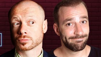 Stand Up Comedy Special με τους Alistair Barrie & Γιώργο Χατζηπαύλου το Σάββατο 5 Οκτωβρίου στο θέατρο του Τεχνόπολις