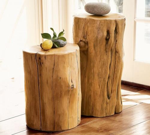 Αυθεντικές διακόσμητικές ιδέες απο ξύλο δέντρου