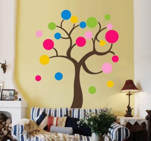 Ιδέες για διακόσμηση τοίχων με κύκλους