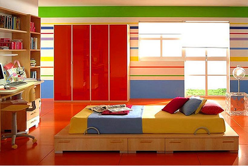 Σχεδιασμός δροσερών και γεμάτων χρώμα παιδικών δωματίων