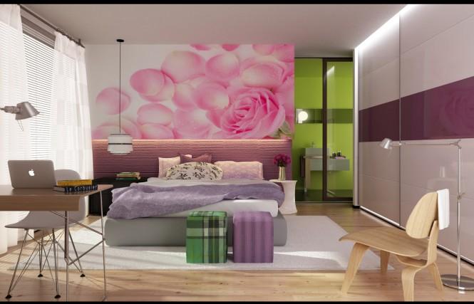 Ιδέες για σύγχρονα,πολύχρωμα υπνοδωμάτια