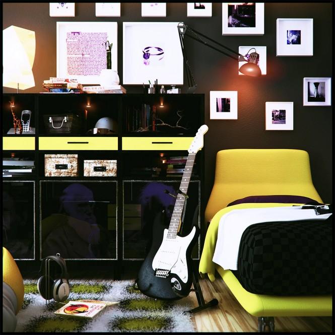 Όμορφες ιδέες για την διακόσμηση ενός παιδικού δωματίου