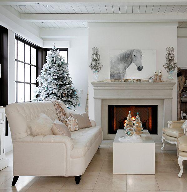 Ένας Χριστουγεννιάτικος εσωτερικός σχεδιασμός όπως κανέναν άλλο από Darci Ilich & The Cross