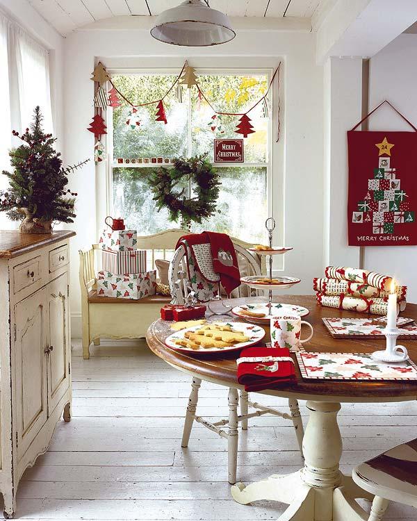 Χριστουγεννιάτικο τραπέζι διακοσμητικές ιδέες για το 2011