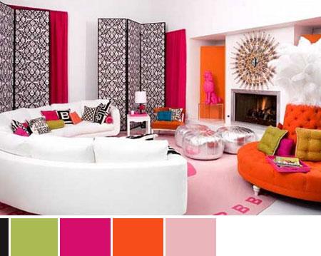 Καταπληκτικοί συνδυασμοί χρωμάτων για τις διακοσμήσεις σας