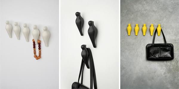 4 Κομψοί γάντζοι και κρεμάστρες από την Asshoff & Brogård
