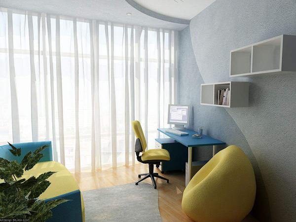 Υπέροχες ιδέες σχεδιασμού δωματίου μελέτης