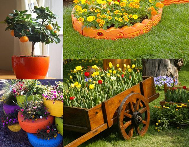 Άνοιξη και Καλοκαίρι - Μοναδικές ιδέες διακόσμησης για τον κήπο, την αυλή & το μπαλκόνι