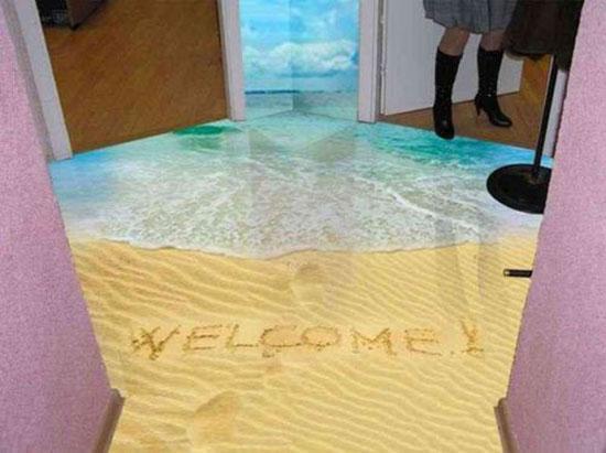 Εκπληκτικά 3D ντεκορ πατωμάτων