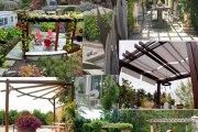 50 Όμορφες ιδέες με πέργκολες για το σπίτι σας
