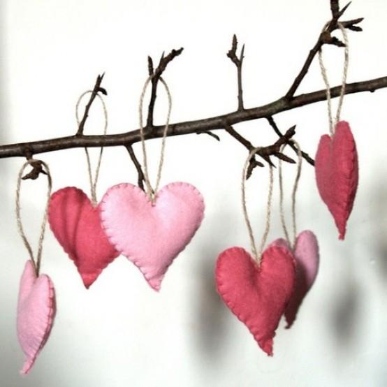 Διακόσμηση Αγίου Βαλεντίνου καρδιές
