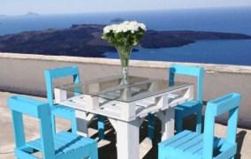 Απίθανη diy παλετοκατασκευή τραπεζάκι  με καρέκλες για τον κήπο ή το μπαλκόνι σας