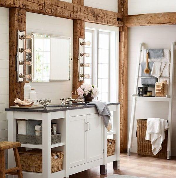 ιδέες για να οργανώσετε και να εκθέσετε τις πετσέτες στο μπάνιο σας10